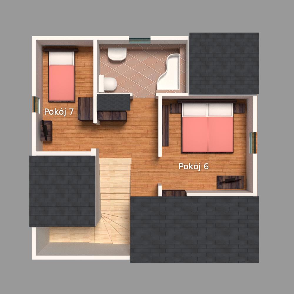 Rzut piętra 3